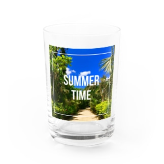 SUMMER TIME Water Glass