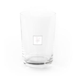 チューリップの花束💐 Water Glass