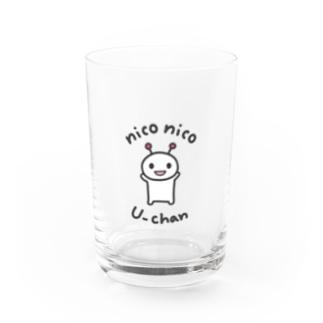 niconico U-chan / ニコニコうーちゃん Water Glass