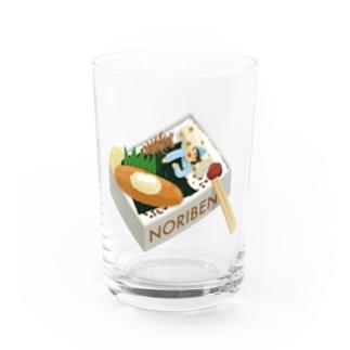 Slow TypingのNORIBEN のり弁の夢 195 Water Glass