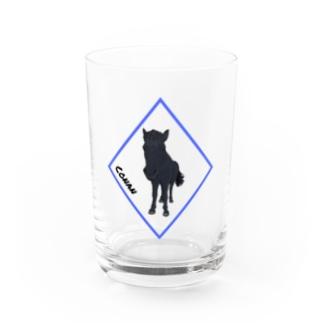 (公財)ハーモニィセンター 応援ショップの(公財)ハーモニィセンター チャリティグッズ コナン Water Glass