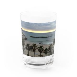 海大好きグッズ Water Glass