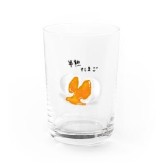 半熟ゆでたまご Water Glass