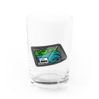 FRESH MEAT Water Glass