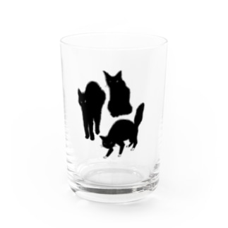 ANGRY CAT Water Glass