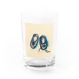 コッペパンみたいな靴 Water Glass
