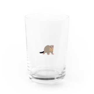 MOBのフェレットのクク Water Glass