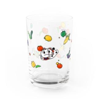 こまいぬくん すこやか夏の日 Water Glass