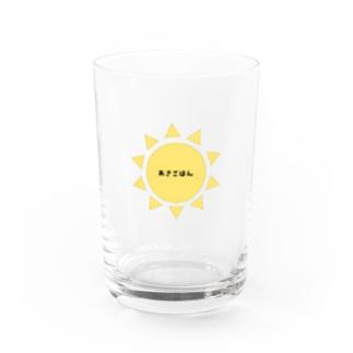 朝食用グラス Water Glass