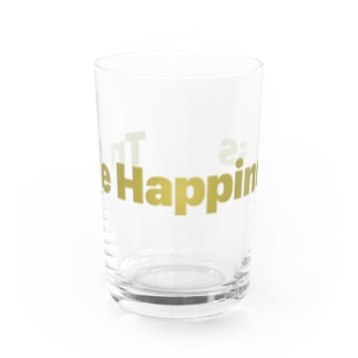 True Happinessgold Water Glass