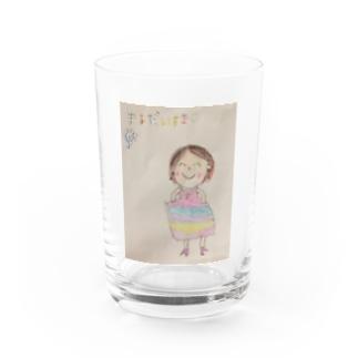 ママだいすき Water Glass