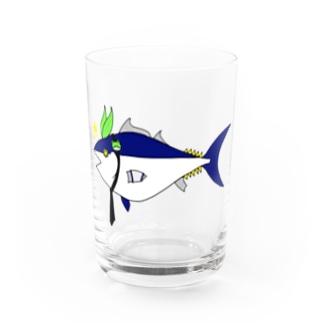 東風谷 = Tuna = 早苗 Water Glass