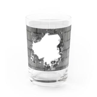 石壁に穴 【88】 Water Glass