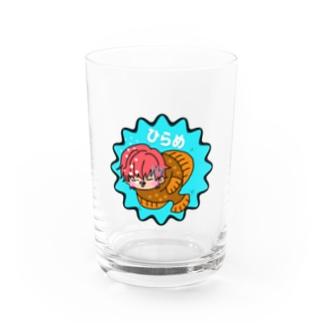 ひらめくん Water Glass