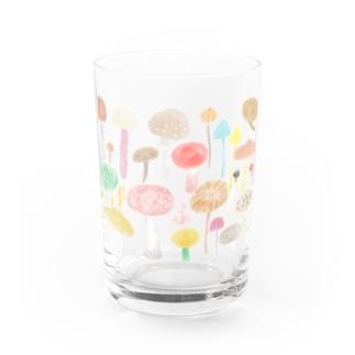 夢見るきのこ Water Glass