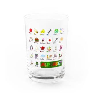 alphabet Water Glass