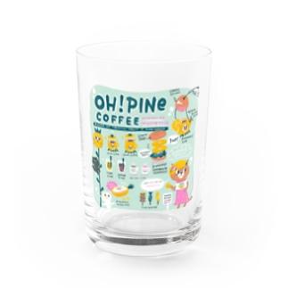 オーパインコーヒー Water Glass