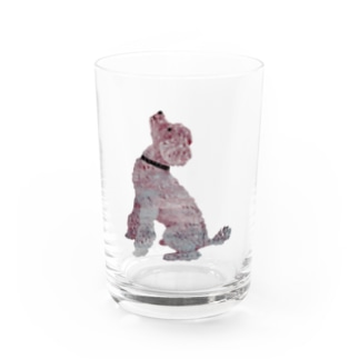Suisui 切り抜き犬Ⅳ Water Glass
