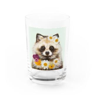 たぬき Water Glass