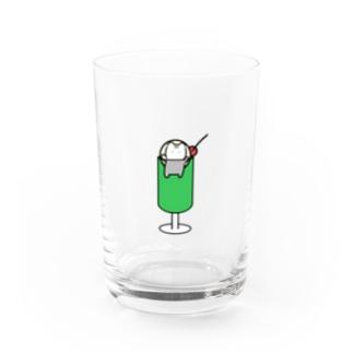 クラハムソーダ Water Glass