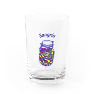 フルーツたっぷりサングリア Water Glass