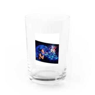 Acryl block Water Glass