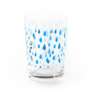 rainy day Water Glass