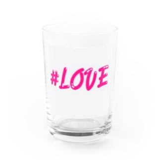 love Water Glass