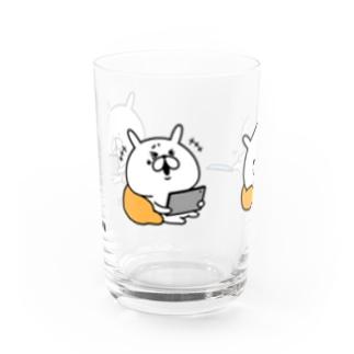 ゆるうさぎ 3コマおうち時間 Water Glass