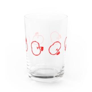 らぷるのらぷるコロコログラス赤 Water Glass