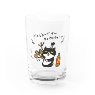❤️ニャンどん❤️ご祈祷・鬼火グラス Water Glass
