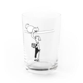 ねこぱんち Water Glass