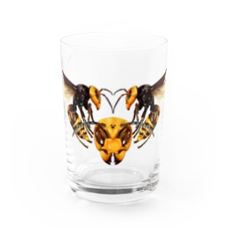 オオスズメバチ Water Glass