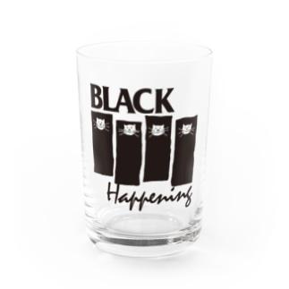 BLACK HAPPENING(ver2) Water Glass