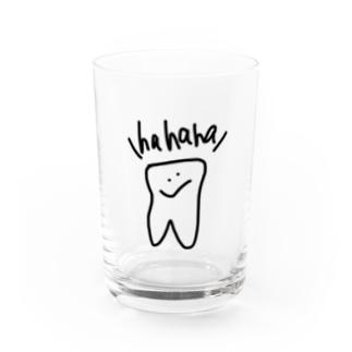 hahaha Water Glass