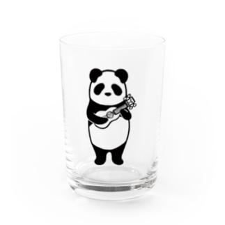 ウクレレパンダ Water Glass