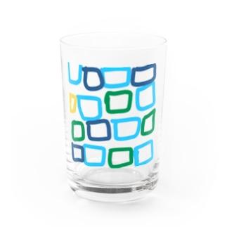 しかくい Water Glass