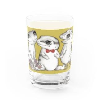 Reptiles MIKAERU Water Glass