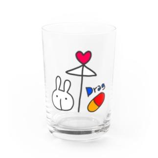 相合傘 Water Glass