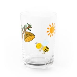aconaruのぶんぶんぶん Water Glass