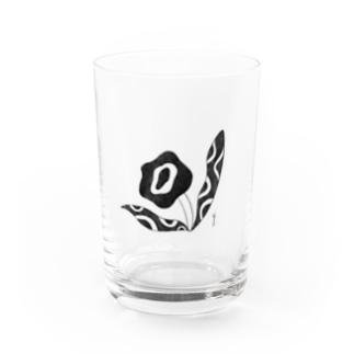 maruo3のはなこさん Water Glass