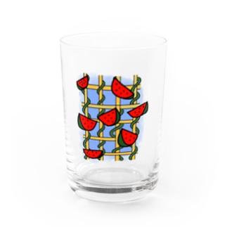 スイカ Water Glass
