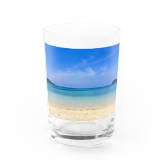 secret blue Water Glass