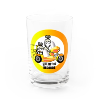 Y&M☆O RECORDS Water Glass