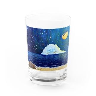 くもさん Water Glass