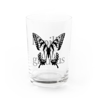 Papilio glaucus Water Glass