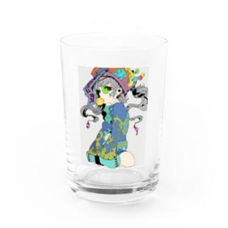 キョンシー Water Glass
