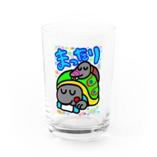 まったり玄武 Water Glass