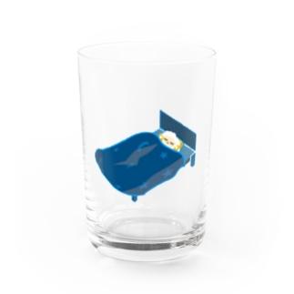 ジョシュ☪︎のオヤスミナサイ夢見るひつじ Water Glass