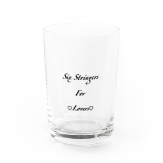 Six Stringers 4 ♡Lovers♡ Water Glass